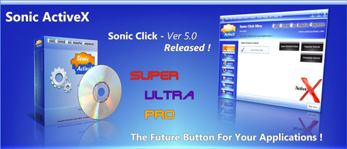 Sonic Click ActiveX 5.0 Released.