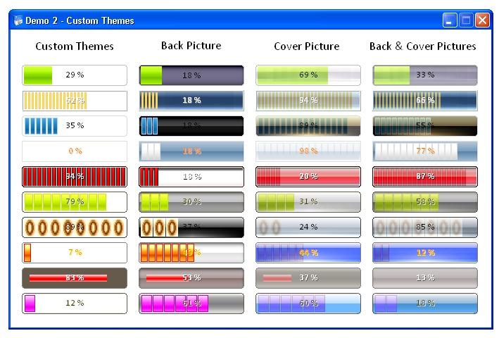 Sonic Progress Bar ActiveX Control 2.0.0 screenshot